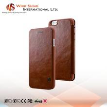 Fashionable card slot pu leather cell phone case, custom pu leather mobile phone case