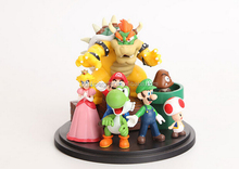 Hot Sale best quality Nintendo figure Mario set figure