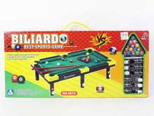 Kids Flocking Snooker Table Toys, Biliard toys for wholesale, Sport Toys for Children, EB031449