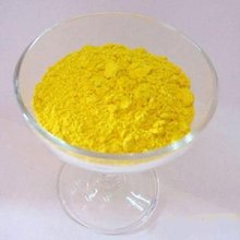 Low-viscosity yellow iron oxide paint color