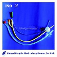 Hydrophilic Foley Catheter/Tube 1/2/3 way