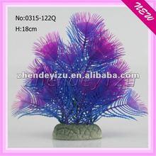 pet water container novel cheap wholesale plastic artificial plants products for aquarium