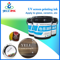 UV printing ink for glass