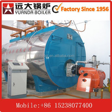 10 ton/ hour steam boiler high temperature steam gas fired burner