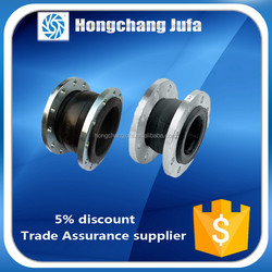 dn125 pipe flange steam pipe flexible edpm rubber expansion joints