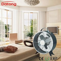Black color 8inch metal box fan with European approvals