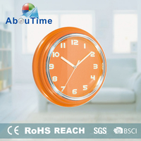 Simple and attractive plastic wall clock oriental 1688 clock movements