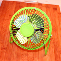 N327 plastic power portable cooling travel handheld usb small mini rechargeable fan