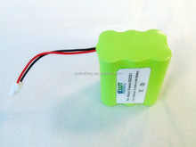 NiMH AA 1500mAh 7.2V Rechargeable Battery pack for vacum cleaner 320-321