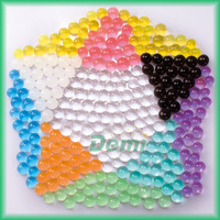 15 colors multiple packaging cystal soil water beads for air freshener,decoration,play field and peashooter