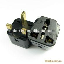 2014 New! Twin socket UK plug Universal Travel Adapter, universal travel smart adapter plug
