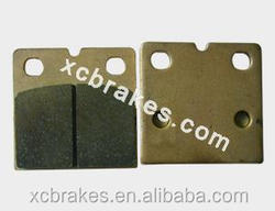 direct factory offering sintered copper Motorcycle &ATV brake pad suitble for BENELLI 354 BMW:K 75 RT