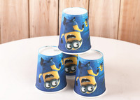 TF-01150901004 10pcs Party supplies birthday party Minions theme party decoration disposable cups