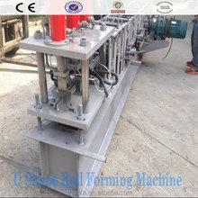 Steel C U Z Purlin Roll Forming Machine Steel Profile Roll Forming Machine