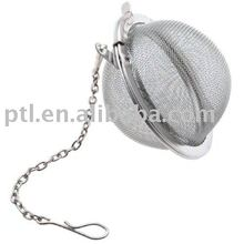 Stainless steel Mesh Tea Infuser with key chain KT175