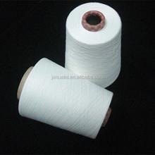 polyester spun yarn raw white knitting medical fabric