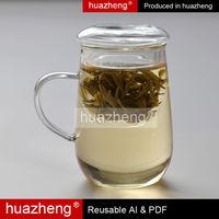 glass tableware brands borosilicate glass coffee cup 250m
