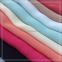 new design ladies fashion dresses crepe chiffon fabric China supplier