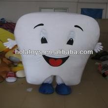 diente de dibujos animados de disfraces para adultos