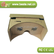 DIY virtual reality cardboard googles VR 3d glasses have enough stock