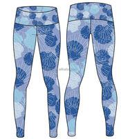 Lycra Sublimation Yoga Pants at Guangzhou Manufacturer