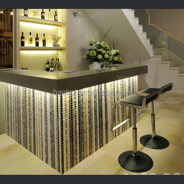 Cafe bar decoration modern furniture small bar counter - Home mini bar counter design ...