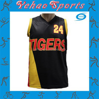 New Style Basketball Jersey Sport Wear With Sublimation Wholesale