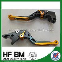 CNC motorcycle folding brake clutch lever, adjustable brake lever