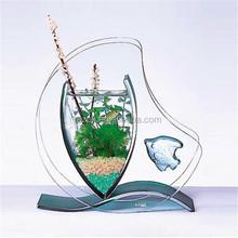 special design artificial glass coral acrylic aquarium