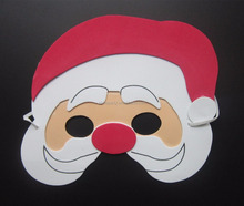 EVA christmas santa claus mask