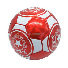 popular soccer ball size 5 customized logo printing