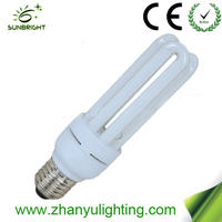 china energy saving light High quality Big 3u energy saving lamp bulb T4 15W E27