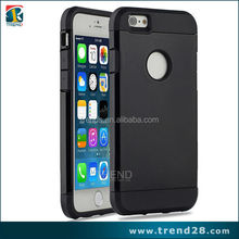 double cell phone case plastic tpu armor case for iphone 6