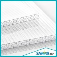 polycarbonate plastic honeycomb sheet