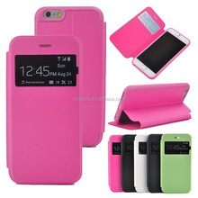 Bottom price promotional new drawing skin leather phone case for iphone6