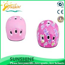 selected materials pink kids helmet, full face motorcycle helmets
