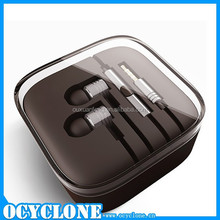 Original high quality for xiaomi piston 2 earphone gold silver earbuds