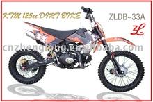 New design 125 cc 4-stroke dirt bike for 2015