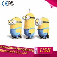 Despicable Me 2 Minions 3 Pack 8GB/16GB/32GB USB Flash Drive, Dave, Kevin, Stuart