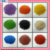 Colored EPDM granules/ crumb rubber/ rubber track for playground-F-V-15120