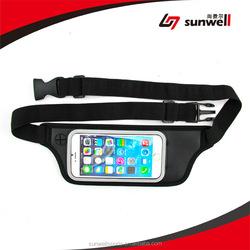 2015 Hot Sale Sports Waist Running Jogging Cycling security Pocket bag Belt Traveling Mobile Phone wallet mobile phone waist bag