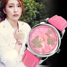 fashion lady watch 3atm waterproof in factory price