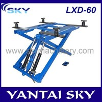 China Supplier LDX-60 auto scissor lift/scissor lift/mechanical workshop equipment