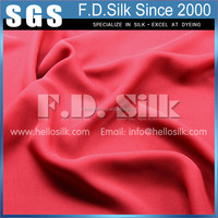 Top selling popular commercial silk chiffon georgette fabrics by the yard
