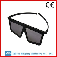 Smart gracious 3d converter with polarized glasses for sale