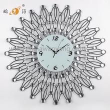 2015 china wholesale digital diy metal decorative wall clock