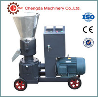 Low consumption electric powered cattle sheep pellet mill, poultry feed pellet machine, feed pellet machinery with CE