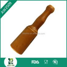 Wholesale cheap beef hammer with wooden handle/pork chop tenderizer hammer/wooden steak tenderizer