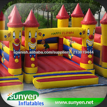 Mini payaso gorila inflable, castillo inflable de la gorila, salto inflable, trampolín inflable, juguetes inflables saltando