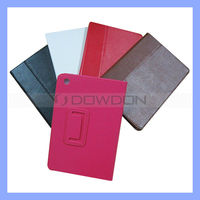 For iPad Mini PU Leather Folio Stand Case